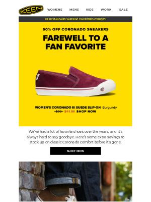 KEEN - Farewell to a Fan Favorite