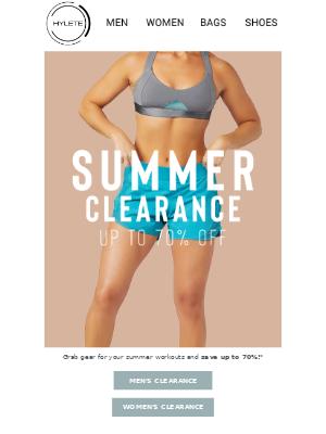 Shop & Save On Summer Gear