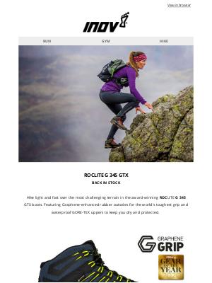 inov-8 (UK) - ROCLITE G 345 GTX: Back in stock & selling fast!