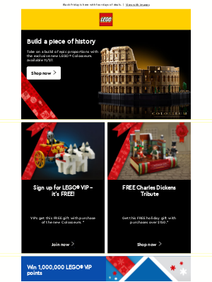 LEGO - LEGO® Black Friday 2020 has arrived!