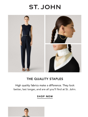 St. John Knits - Your Shopping List