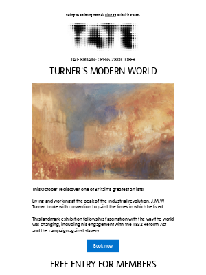 Tate (UK) - Rediscover one of Britain's greatest artists