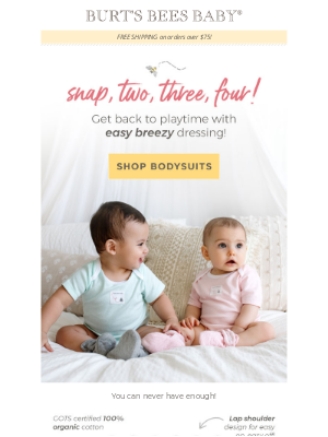 Burt's Bees Baby - The #1 item for baby - you can never have enough!