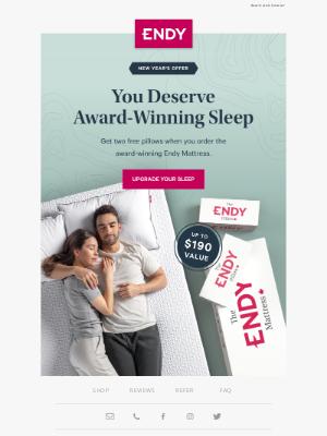 Endy (CA) - Get the better sleep bundle 💤