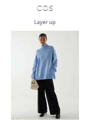 COS - Layer up: new season knits