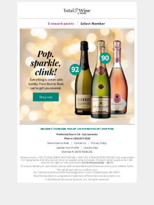 Total Wine & More - The Perfect Bubbly for New Year's Eve