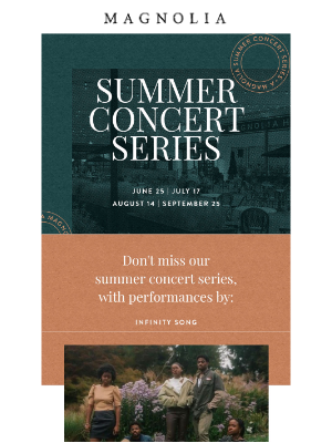 Magnolia Market - Concert tickets are still available
