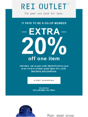 Save Even More: Extra 20% Off One Item