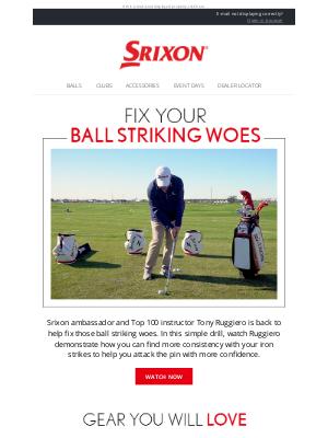 Srixon - Srixon Golf Tips | Ball Striking Made Easy