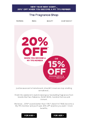 The Fragrance Shop UK - Fancy saving on our bestsellers Tamera?