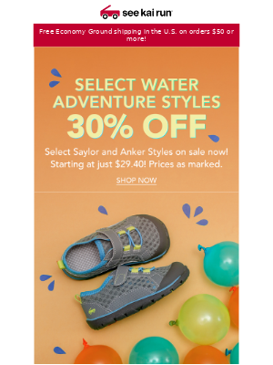 30% Off Select Saylor Styles