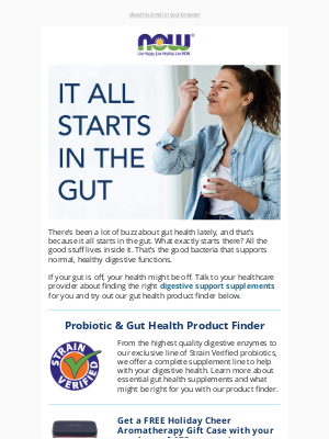 NOW Foods - All about digestive enzymes, probiotics, and more!
