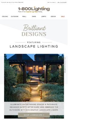 Brilliant Designs ⋆ Landscape Lighting