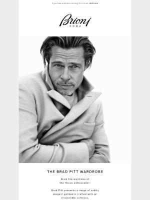 Brioni - The Brad Pitt Wardrobe