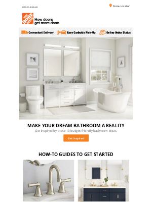 Your dream bathroom is within reach!  🛁