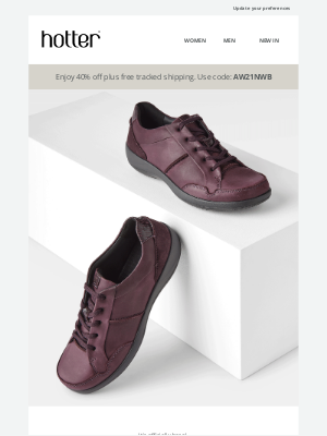 Hotter Shoes - You deserve something new this Autumn