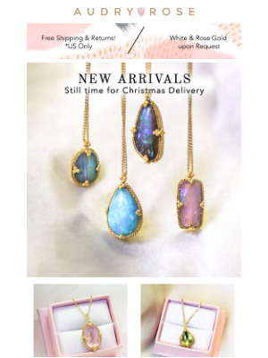 Audry Rose - New! Vibrant Colors & Handcrafted, 18k Designs❤️🌹