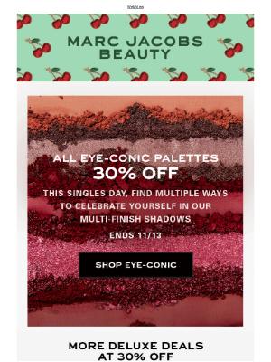 Marc Jacobs Beauty - Singles Day Sale: enjoy 30% off palettes