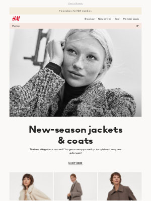 H&M (UK) - Jackets and coats for autumn