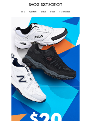 Shoe Sensation Inc - 👟 Celebrate Dad with $20 OFF!