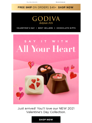 GODIVA - Say It With All Your ❤️