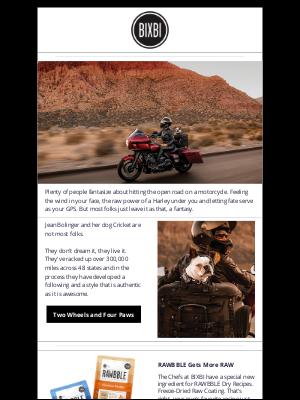 BIXBI Pet - BIXBI Digital DROOL | Road Tripping with Cricket