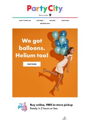 We Got News That'll Float Your Balloon.