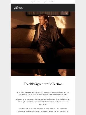 Brioni - The 'BP Signature' Collection