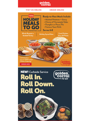 Golden Corral - All the Fixin's, None of the Fuss.