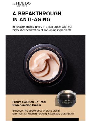 Shiseido - Get In On Everyone's Anti-Aging Secret