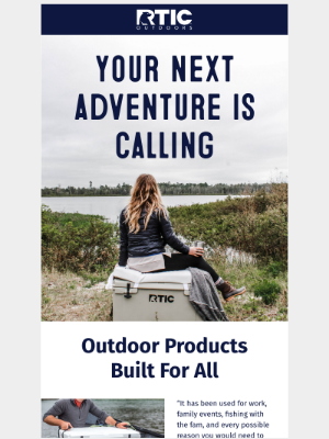 RTIC Outdoors - Your next adventure is calling