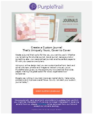 Create a Custom Journal