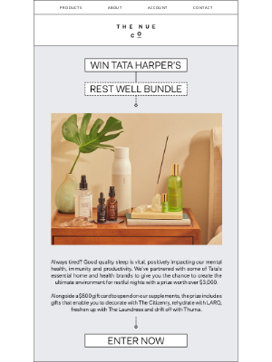 The Nue Co. - WIN with The Nue Co. and Tata Harper