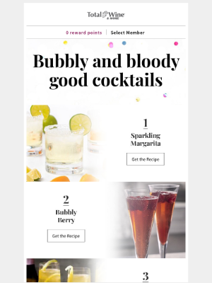 Total Wine & More - Ring in the New Year with Festive Drinks