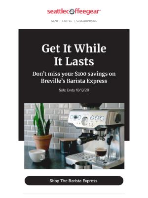 Seattle Coffee Gear - Ending Soon!⏰