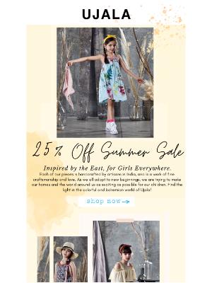 25% Off Sale Ending Soon!