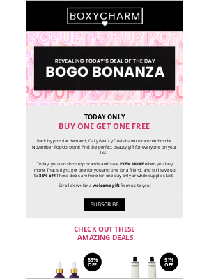 BOXYCHARM - Your day just got even better... 🎉