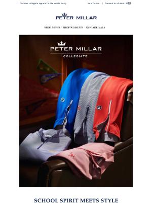 Peter Millar - Spirit Meets Style: Peter Millar Collegiate