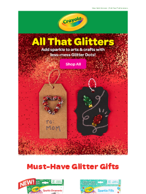 Crayola - 💫✨ Glitter ✨ Gifts ✨💫