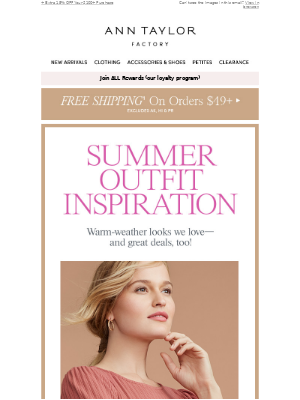 Ann Taylor - 2 For $20 Tops + $17 Skirts & Shorts = Unlimited Outfits!