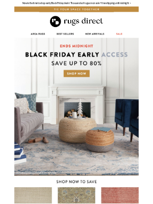 THIS IS IT! Final Day To Shop Black Friday Early Access.