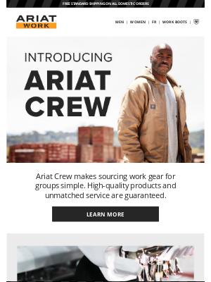 Ariat International Inc - Meet Ariat Crew
