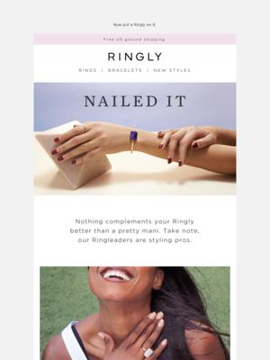RINGLY - Monday Mani Motivation 💅