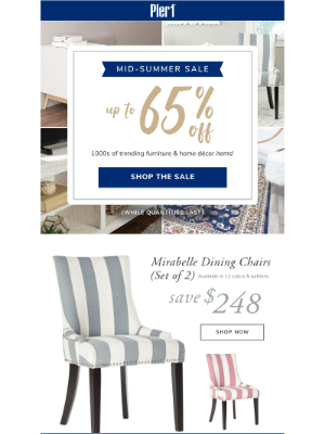 Up To 65% OFF, Starts Now!