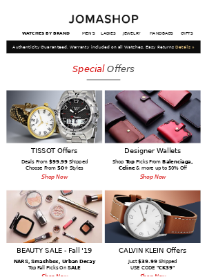 ➤➤ Approved! As a VIP, enjoy: Thursday Special Offers & Coupons!