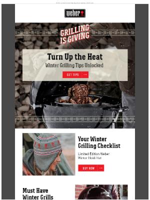 Weber - Top 10 Winter Grilling Tips ❄️☃️