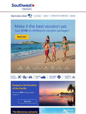 Southwest Vacations - Prepare yourself & go—you're one click closer to your future vacation ✈