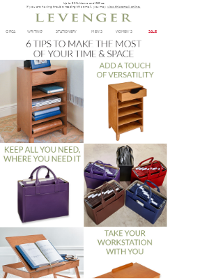 6 Ideas to Organize & Optimize.