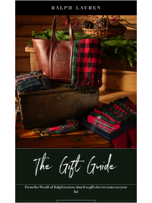 Ralph Lauren - Explore Our Holiday Gift Guide