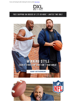 DXL - Official NFL Team Gear + Activewear – For the Athlete In All Of Us.